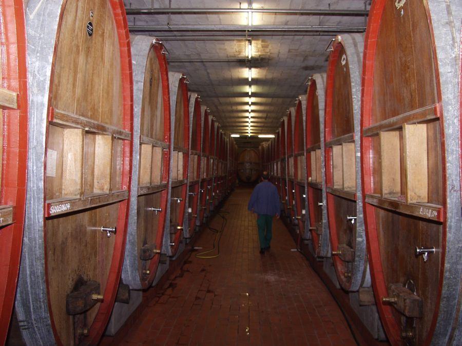 Keller der Remstalkellerei