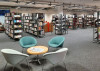 Sitzgruppe in der Stadtbücherei