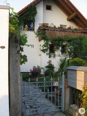 Eingang Gartentor