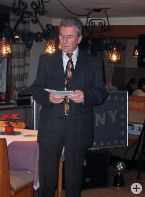 1 Vorsitzender des MSC- Strümpfelbach eV. im ADAC Siegfried Idler