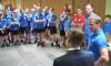 Internat Fußballturnier 2017: Empfang der polnischen Teilnehmer im Rathaus