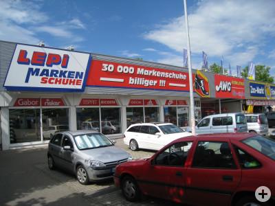 Schuhfachmarkt