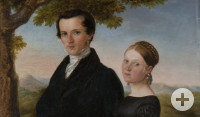 Ehepaar Silcher, um 1822