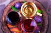 Drei Farben Wein