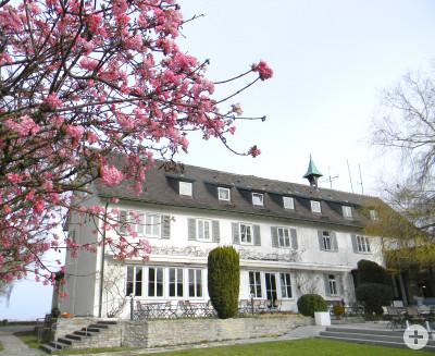 Das Große Haus im Frühling
