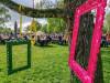 Wiegenfest der Gartenschau in Weinstadt