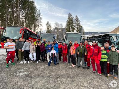 Gruppenbild Skiclub Strümpfelbach