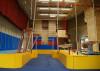 Innenraum mit Sportgeräten des SG Cubes