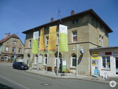 Remstal Tourist-Info im alten Bahnhof Endersbach