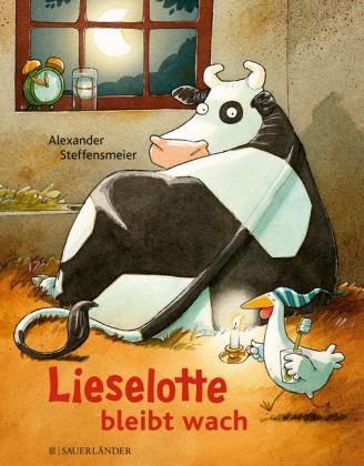 """Buchcover """"Lieselotte bleibt wach"""""""