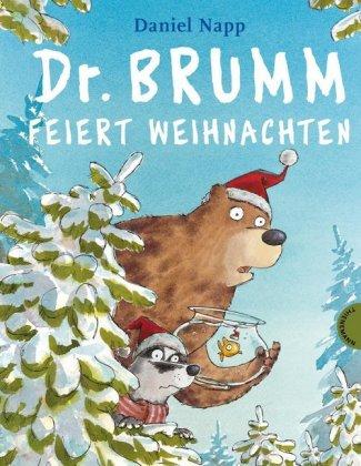 """Buchcover """"Dr. Brumm feiert Weihnachten"""""""