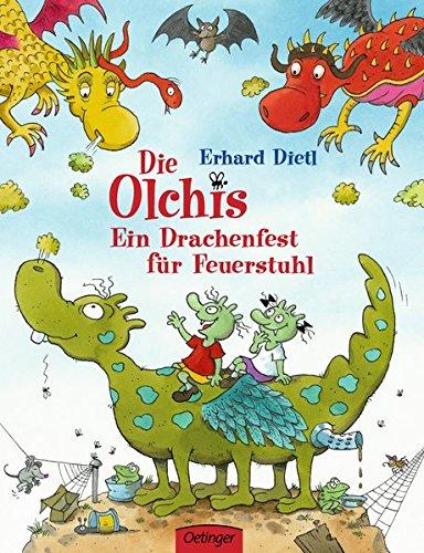 """Buchcover """"Die Olchis - Ein Drachenfest für Feuerstuhl"""""""