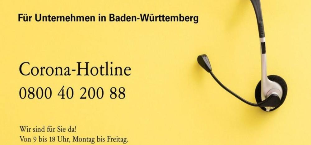 Corona-Hotline für Unternehmen