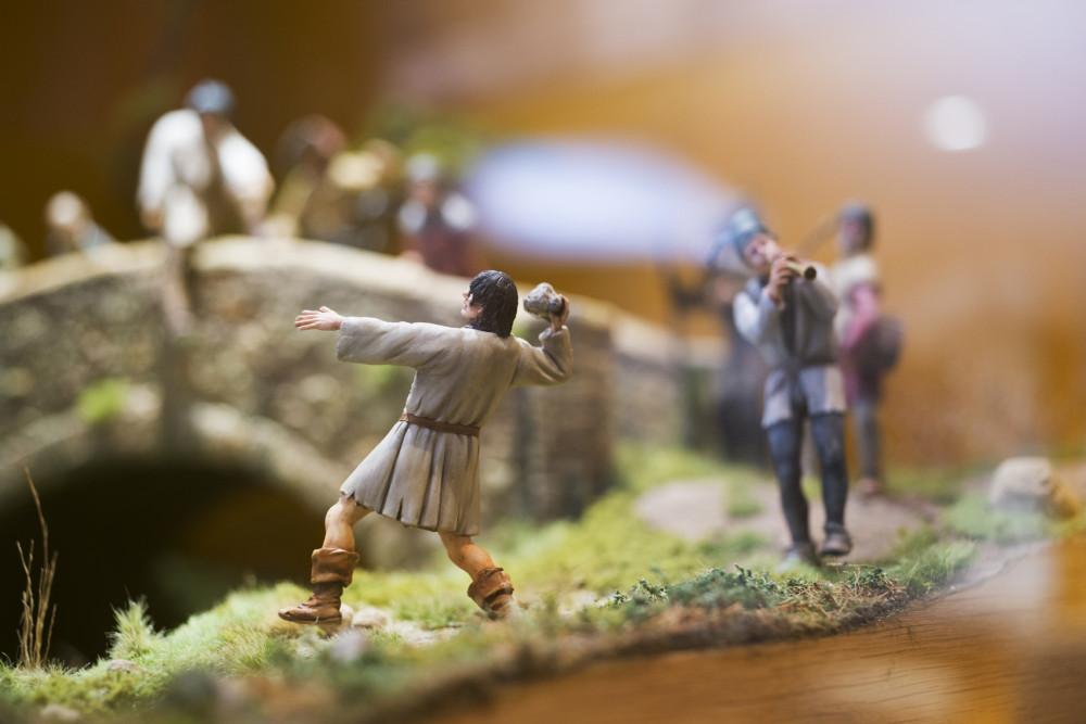 Diorama Bauernkrieg