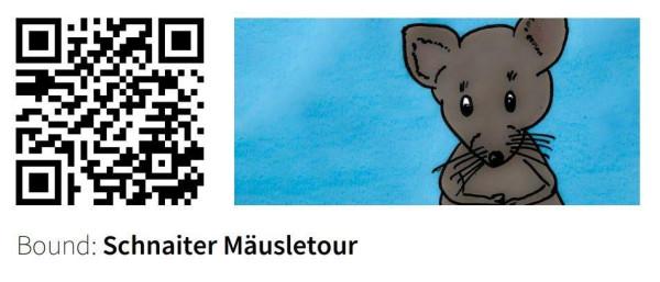 QR-Code zur Schnaiter Mäusletour