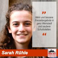 Sarah Rühle