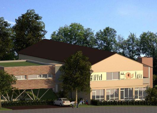 Planung der Erweiterung des Kindergarten Rappelkiste