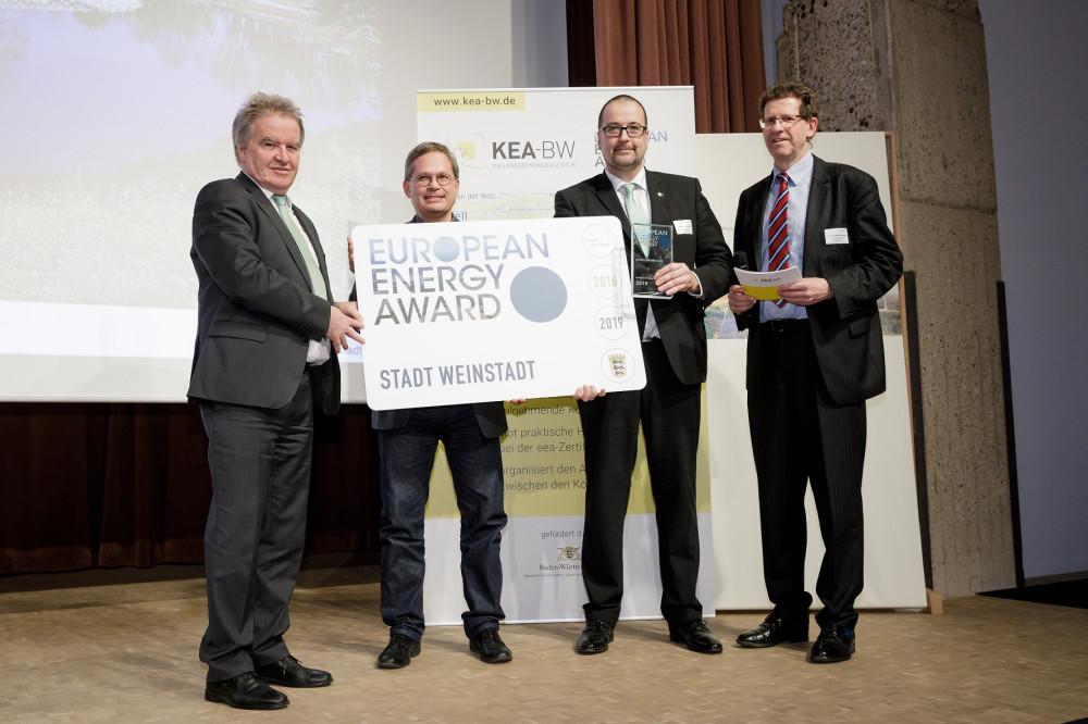 Verleihung des European Energy Award 2020